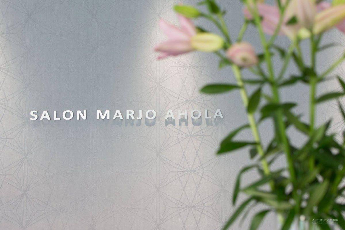 Tilasi Salon Marjo Ahola valaistussuunnittelu