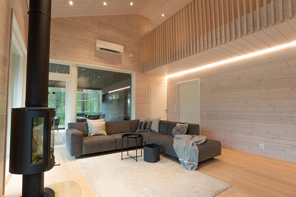 Tilasi valaistussuunnittelu sisustussuunnittelu Huvila K3